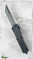 Marfione Custom Combat Troodon Hell Hound Vegas Forge Spirograph Damascus Blued Hardware