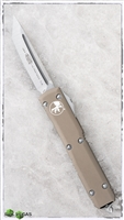 Microtech Ultratech T/E 123-4TA Tan Handle Satin Blade