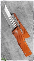 Microtech Combat Hellhound Signature Series SW Blade Orange Handle