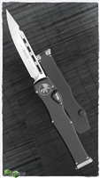 Microtech HALO 6 S/E 251-4 Satin Blade Black Handle
