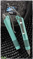 Microtech Siphon II Tiffany Blue Pen 401-SS-RE