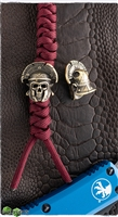 MW Antiqued Brass Roman Soldier Skull Bead