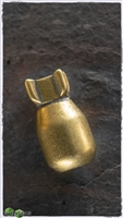 MW Brass Little Boy Bomb Bead