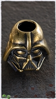 MW Antiqued Brass Vader Bead