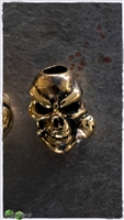 MW Brass Life and Death Skull Bead