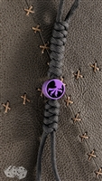Purple Titanium Claw Bead