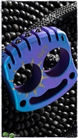 MecArmy Two-Finger Knuckle Titanium Paperweight Anodized