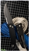 Protech Brend #3 Auto 1322 Black Blade Partial Serrated