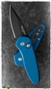 Protech Sprint Automatic Knife Black Blade Blue Handle 2907-Blue