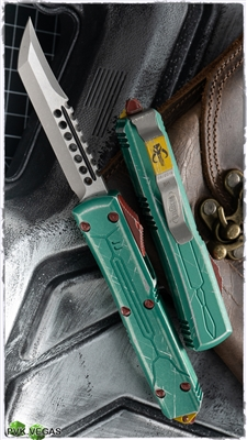 Microtech Ultratech Bounty Hunter Hellhound Blade