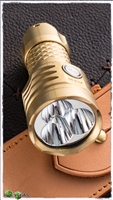MecArmy PT16 Brass 1200 Lumens Flashlight