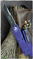 Microtech Combat Troodon S/E 143-1PU Black Blade Purple Handle