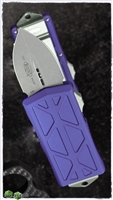 Microtech Exocet 157-10APPU Apocalyptic Blade Purple Body