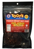 Toot's Brisket Beef Jerky - Hot Wing Style
