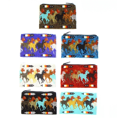 Galloping Horse Coin Purse