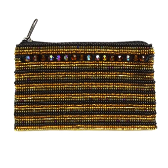 Coin Purse with Crystals - #103 Earth