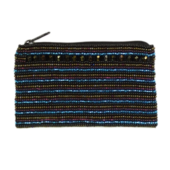 Coin Purse with Crystals - #106 Desert Sunset