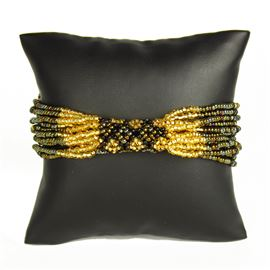 Zulu Bracelet - #370 Bronze, Gold, Black