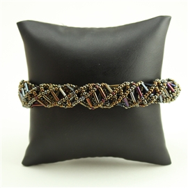 DNA Bracelet - #201 Brown Iris Magnetic Clasp!