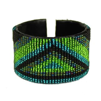 Triangle Cuff - #109 Green