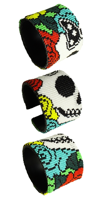 Day of the Dead Cuff - #2