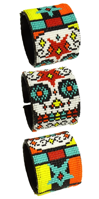 Day of the Dead Cuff - #4