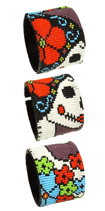 Day of the Dead Cuff - #7