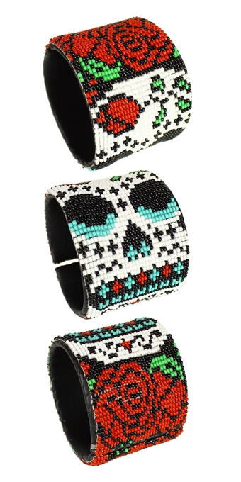 Day of the Dead Cuff - #10