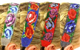 Wide Headband - Assorted Floral