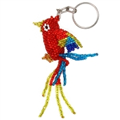 Parrot Keychain - Red
