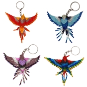 Fancy Hummingbird Keychain - Assorted