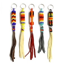 Native Tassel Keychain