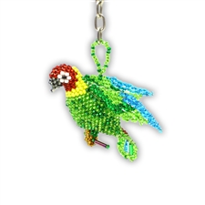 Fancy Parrot Keychain