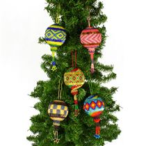 Large Ball Ornament - Assorted