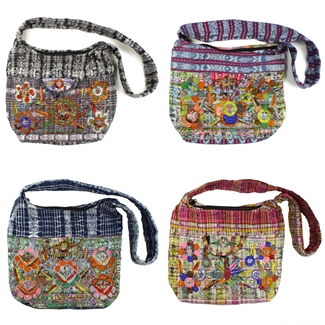 Beaded Mayan Weaving Hobo - Assorted