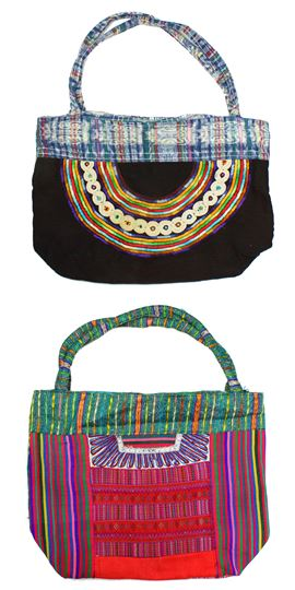 Textile Clutch, Large - #009 Assorted Ethnic Designs