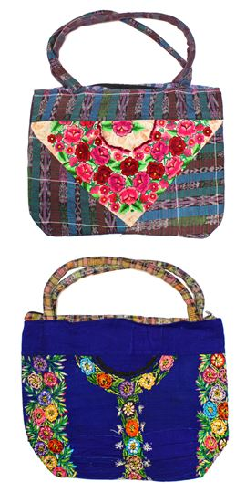 Textile Clutch, Large - #010 Assorted Floral