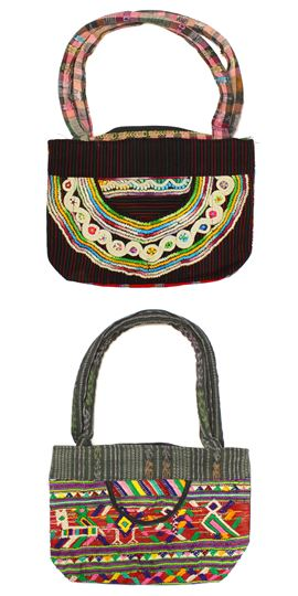 Textile Clutch, Small - #009 Assorted Ethnic Designs