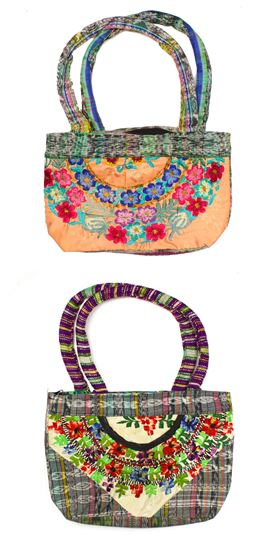 Textile Clutch, Small - #010 Assorted Floral