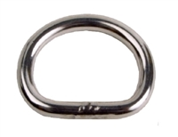 "D-Ring, 1"" Stainless Steel"