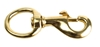 "Swivel Bolt Snap, Med, 3/4"", Brass"