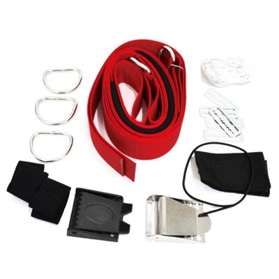HOG Hogarthian Harness - Basic Red