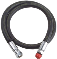 "High Pressure Gauge Hose  4""-18"""