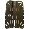 HOG Aluminum Backplate Black