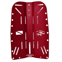 HOG Aluminum Backplate Red