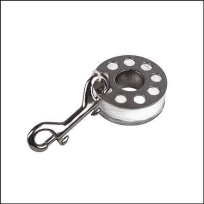 TDL Stainless Steel Finger Spool 100'