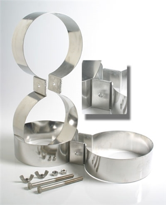 TDL 7.00 Inch Stainless Steel Doubles Bands