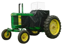 Femco John Deere Tractor Weather Brake is a top-quality custom designed enclosure for the John Deere Tractor models #3120, 3320, 3520, 3720 (will fit with/without a 300x loader).