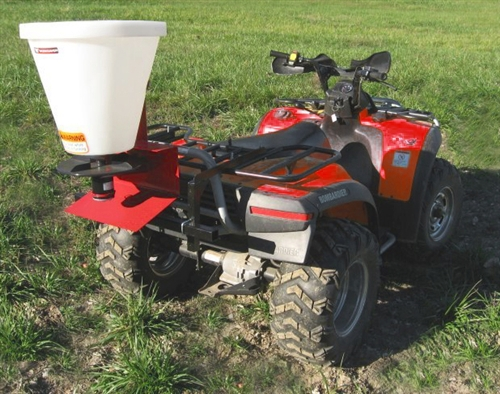 Worksaver Atvk 400 Atv Seeder Spreader 1 Bushel Capacity