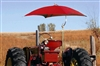 "Snowco Femco TU-56 Deluxe 54"" Tractor Umbrella Canvas Replacement Cover ONLY - Red."